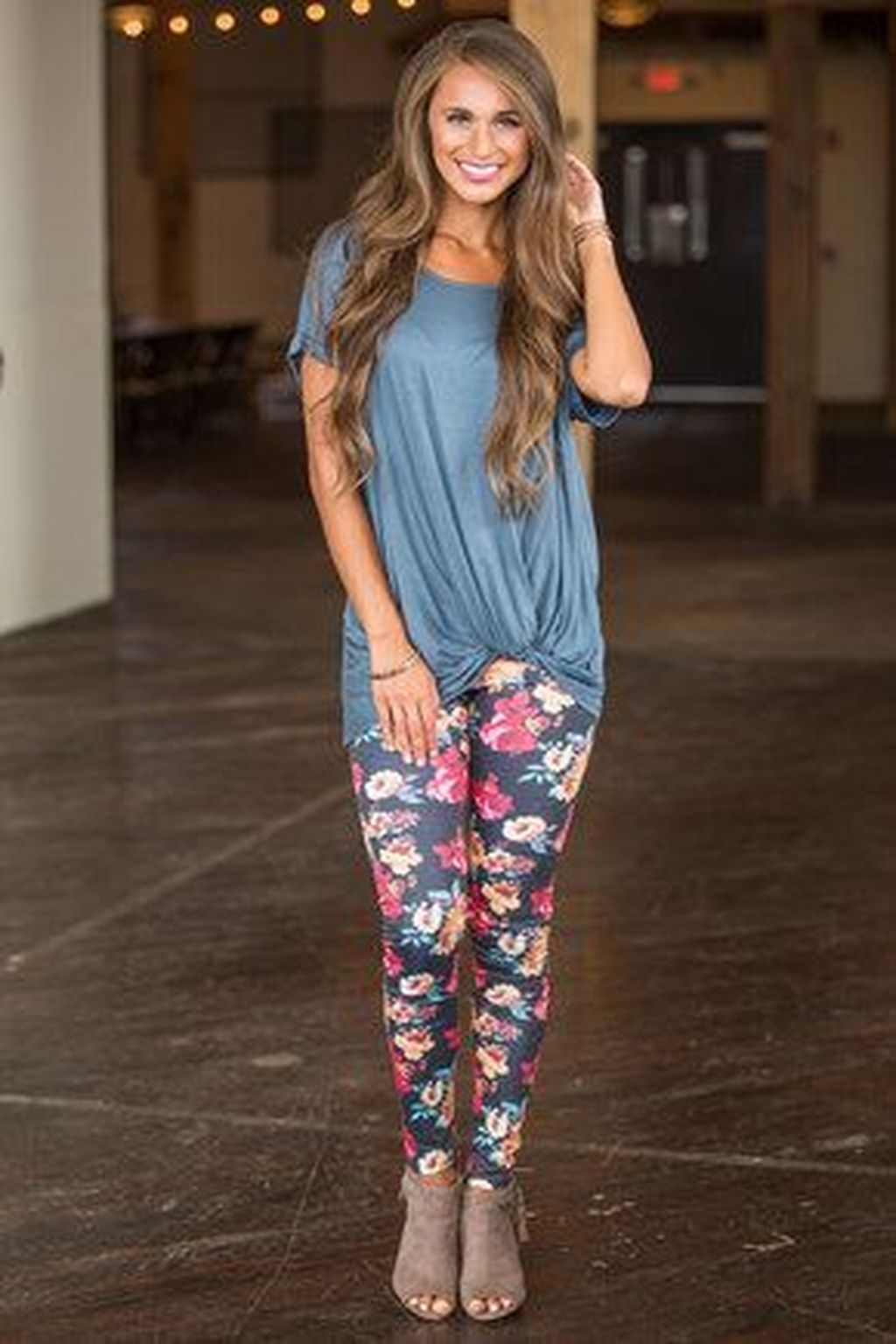 Inspiring Summer Outfits Ideas With Leggings To Try